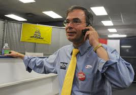 """What's that, Mr. Koch? Vote AGAINST the 'Fiscal Cliff' legislation? You can count on me!"""